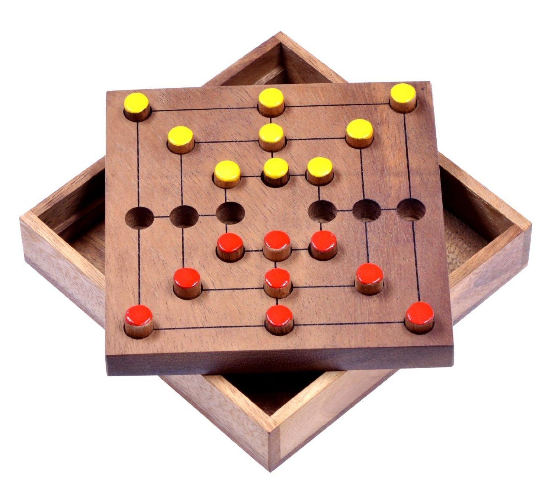 Mühle Brettspiel