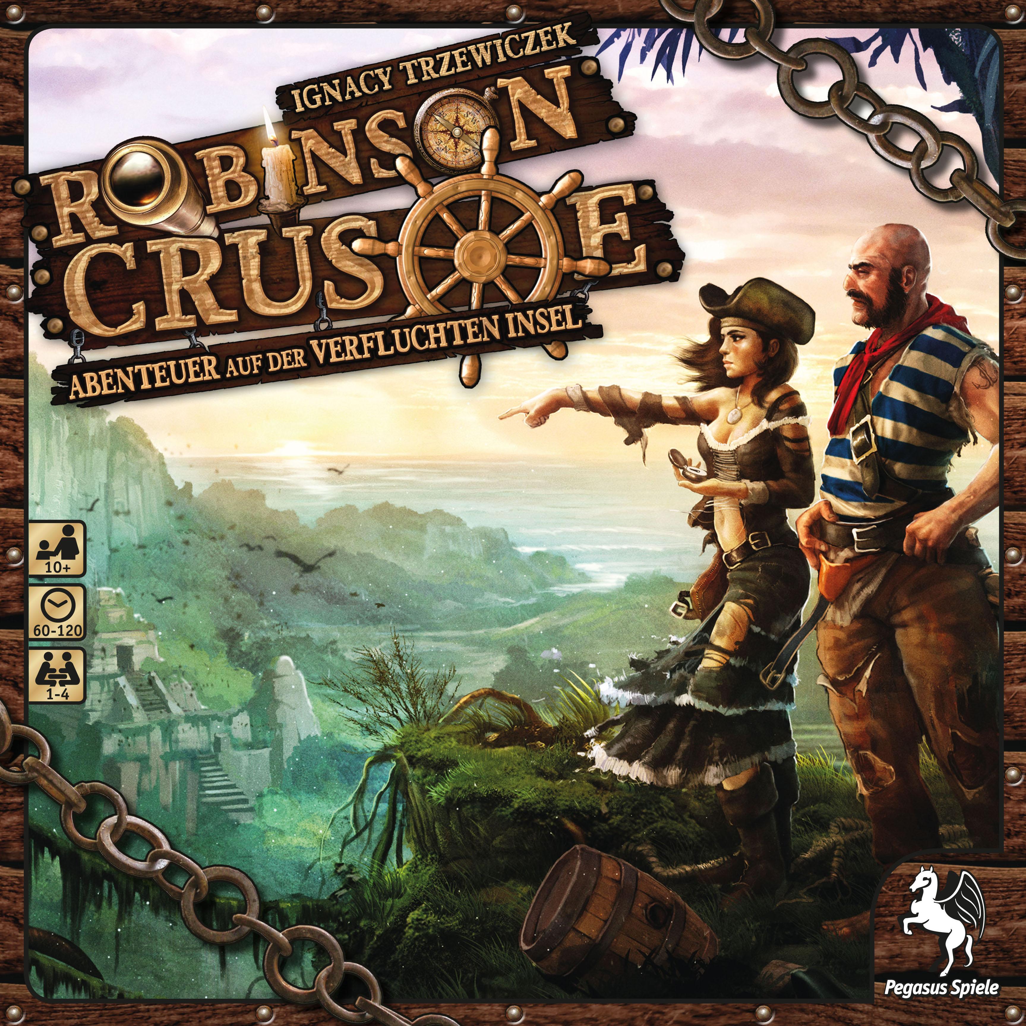 Robinson Crusoe Brettspiel Anleitung