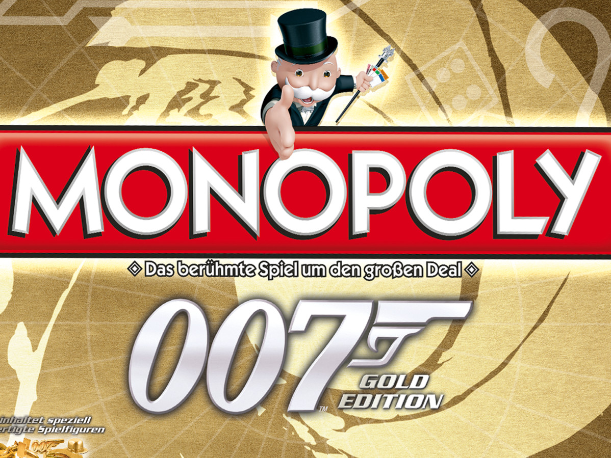 monopoly james bond 007 gold edition spiel anleitung. Black Bedroom Furniture Sets. Home Design Ideas