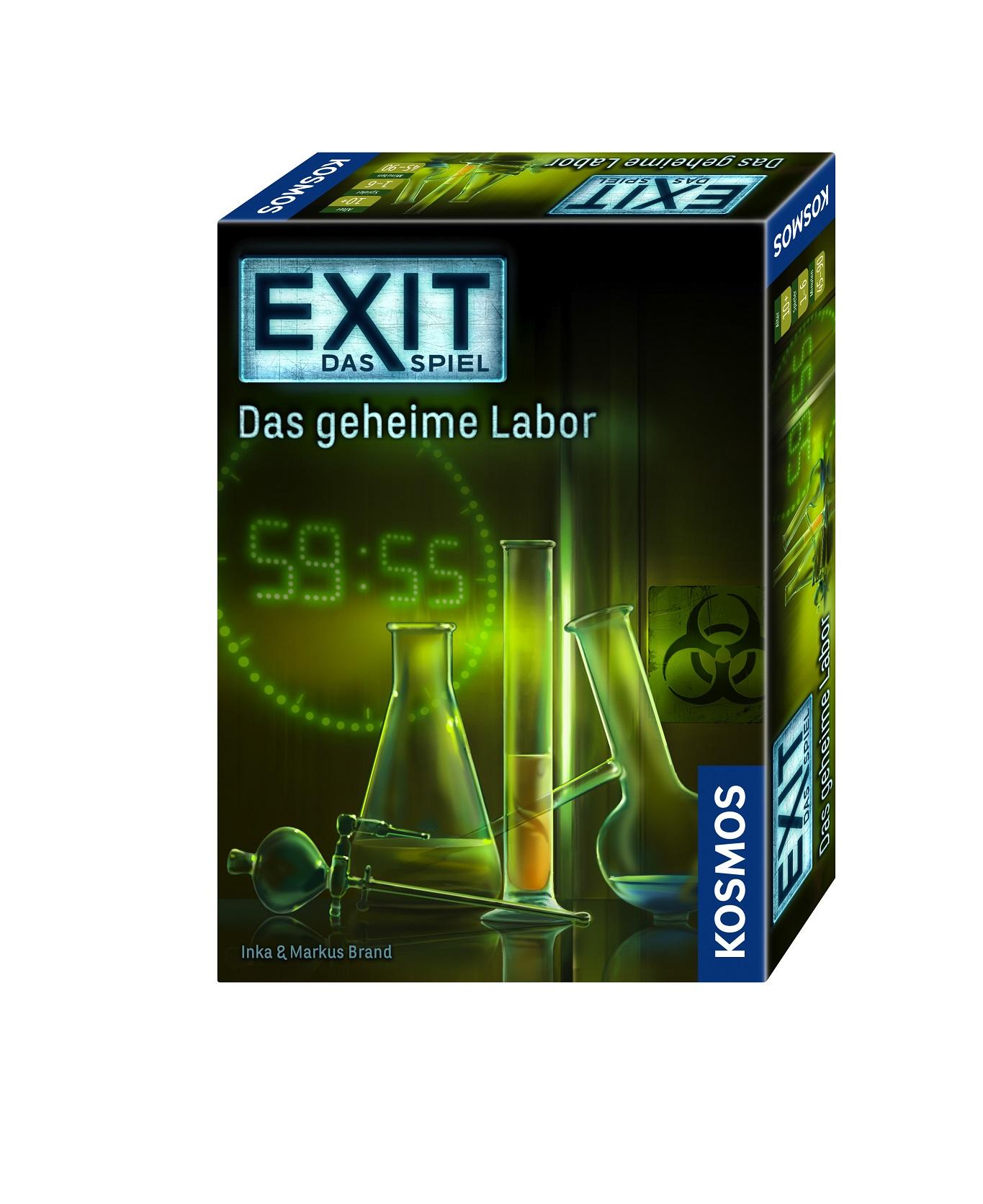 Exit Das Geheime Labor Lösung