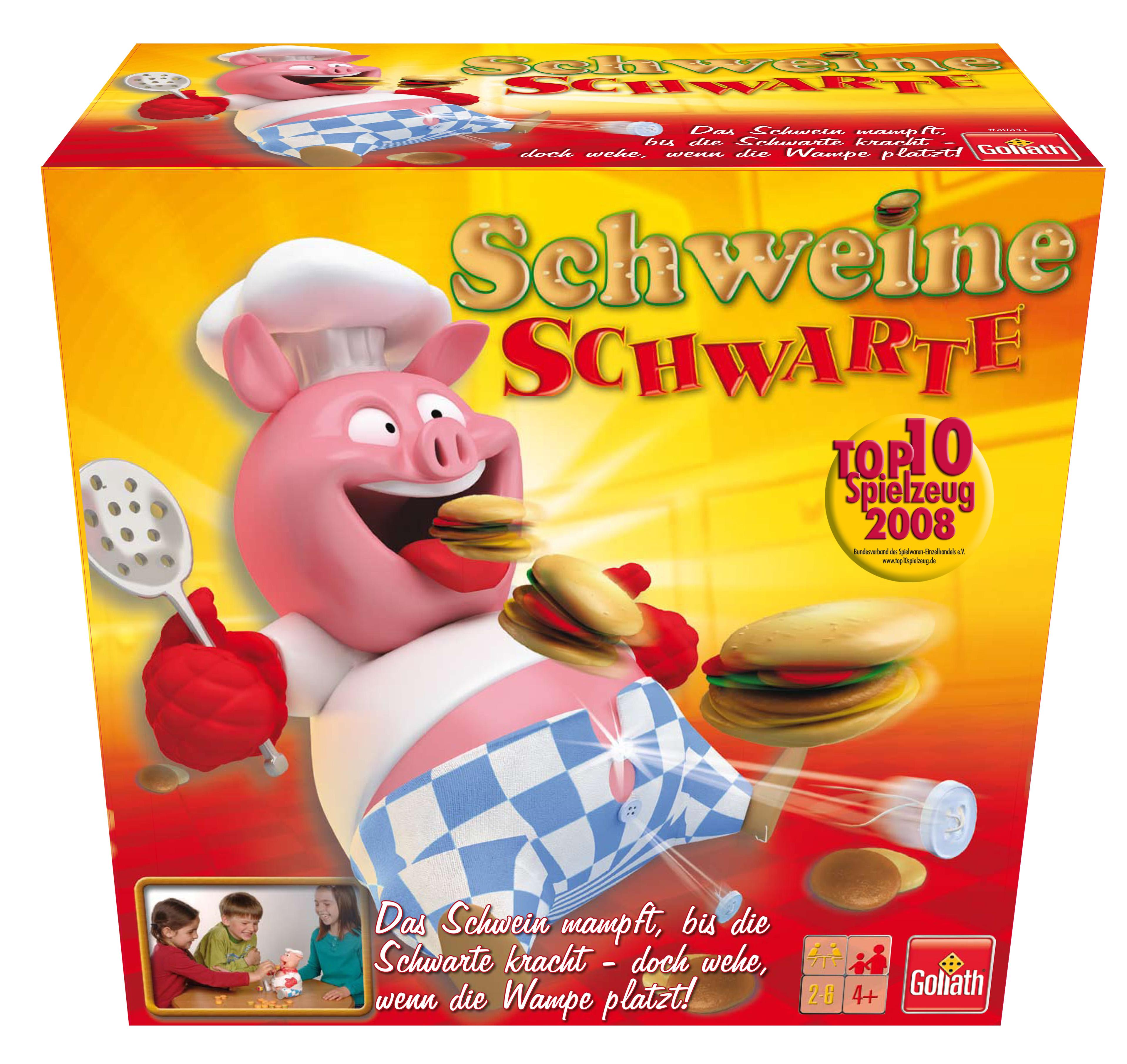 Schwarte Schwein