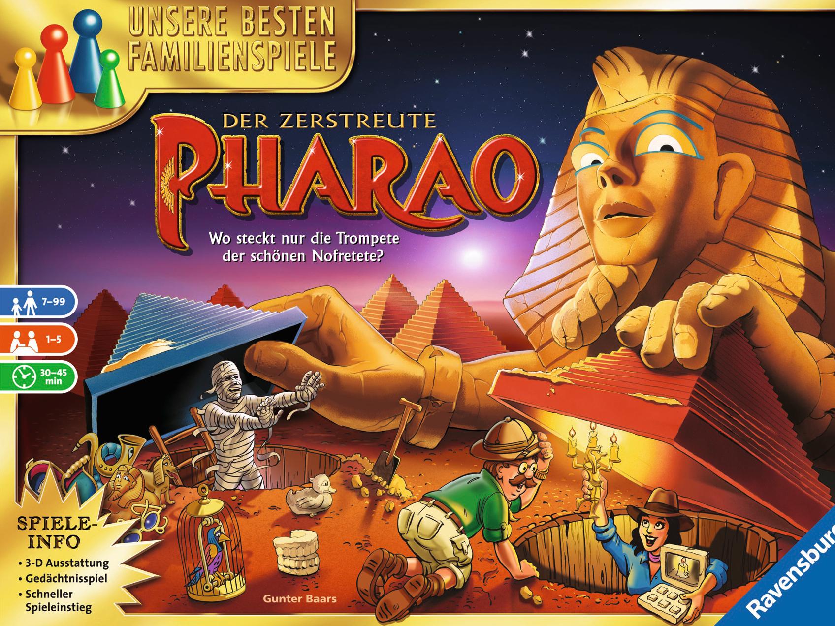 Der Zerstreute Pharao Spiel