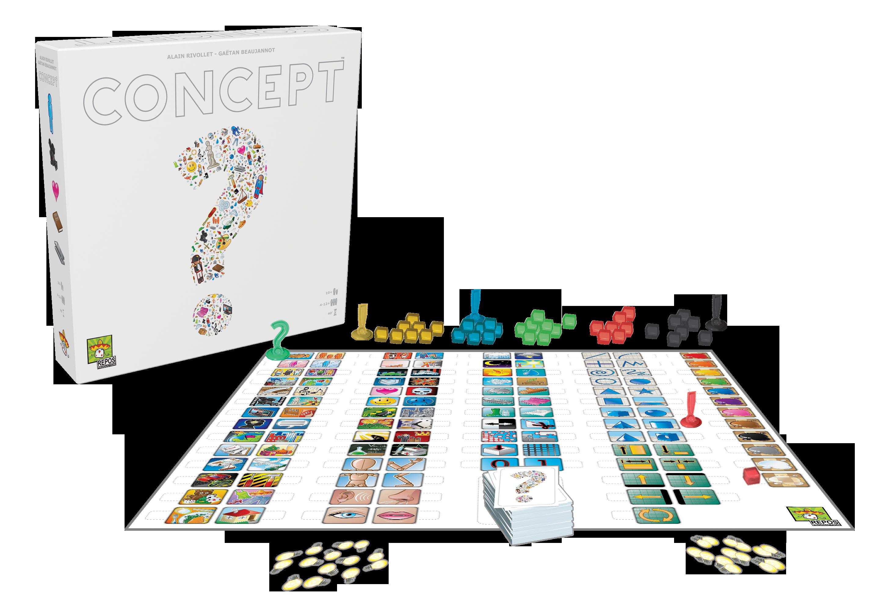Concept, Spiel, Anleitung und Bewertung auf Alle Brettspiele bei ...
