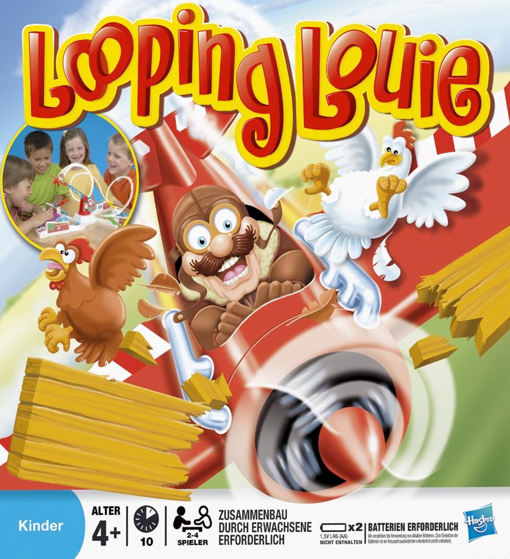 looping louie spiel anleitung und bewertung auf alle