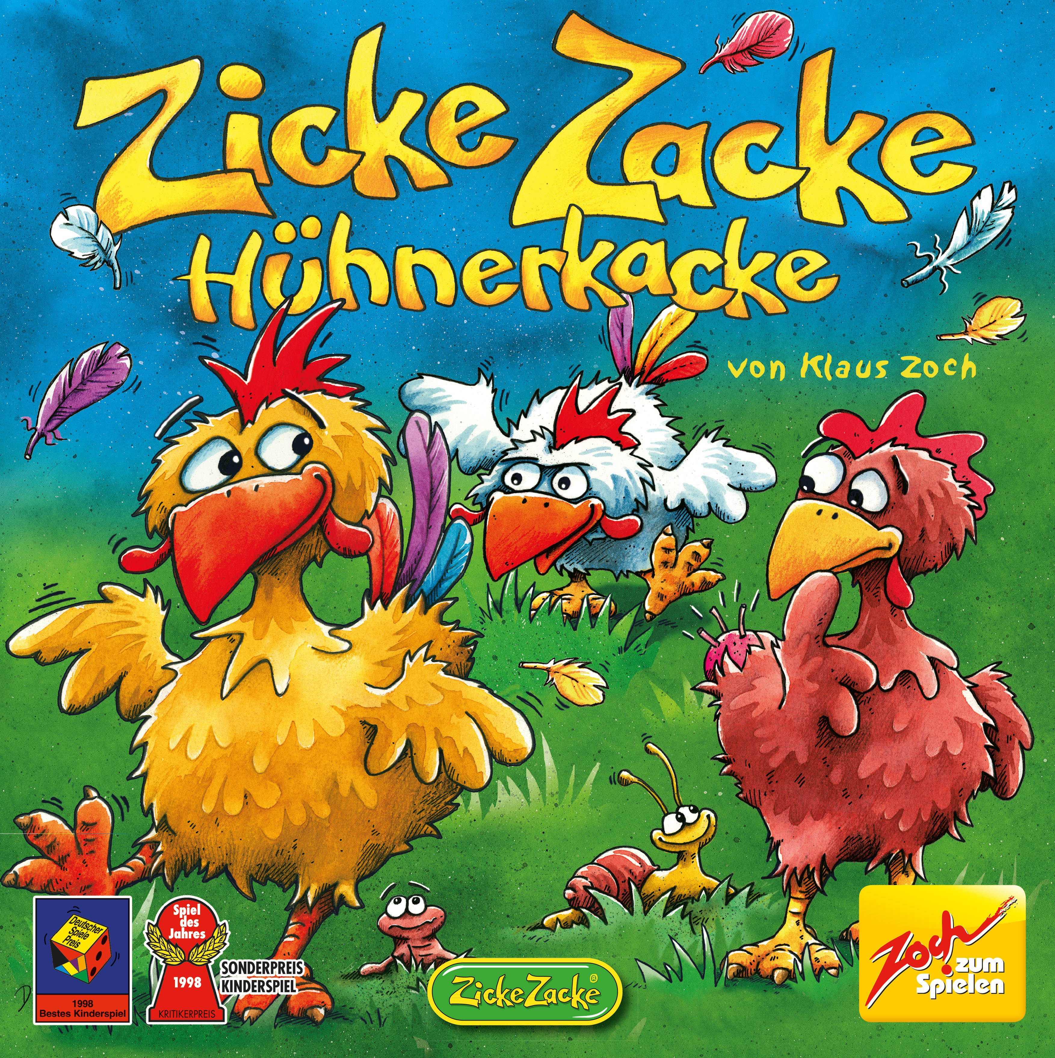 Zicke Zacke Hühnerkacke Spiel