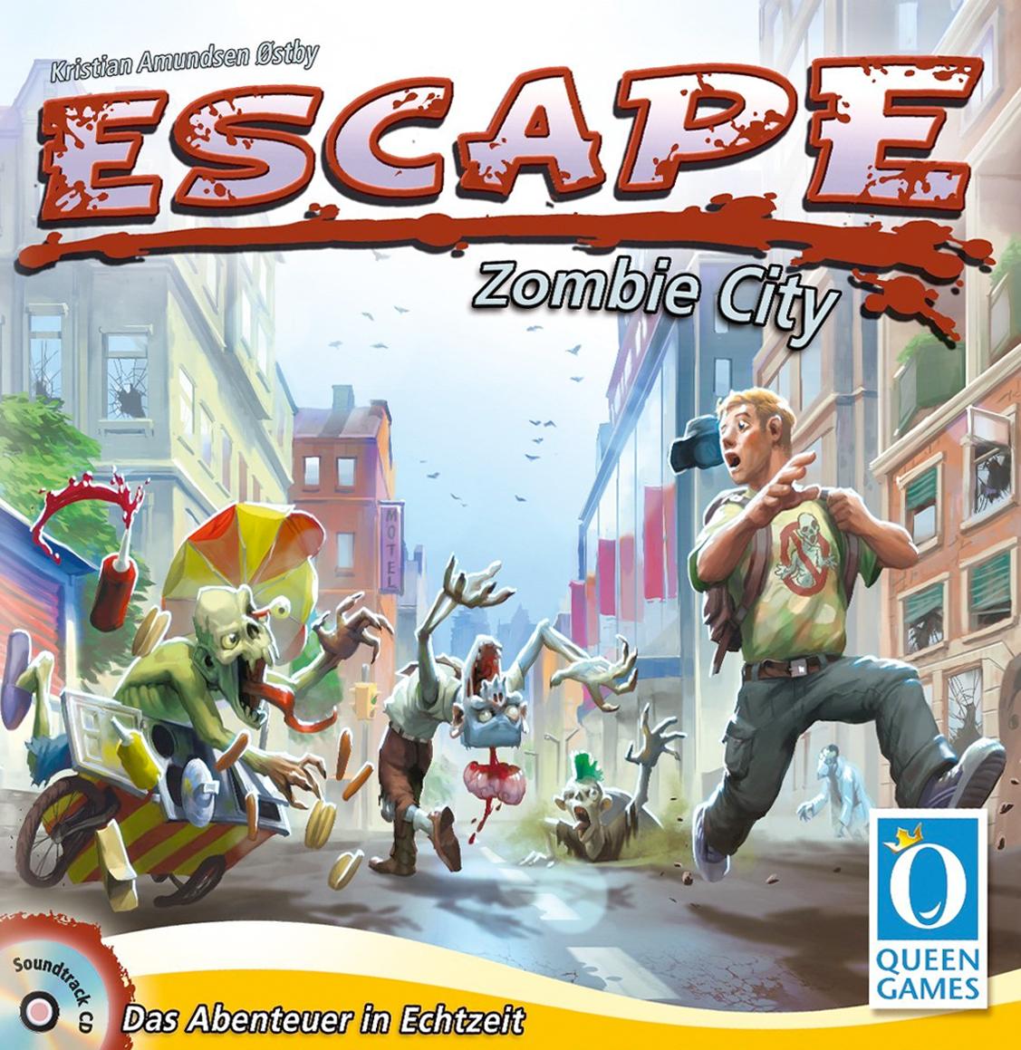 Queen Games 10030 Zombie City Escape