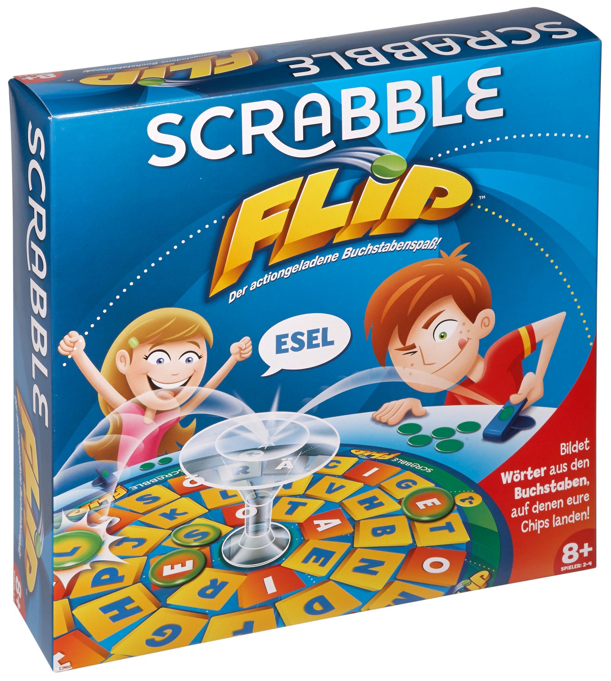 Scrabble Flip, Spiel, Anleitung und Bewertung auf Alle Brettspiele ...