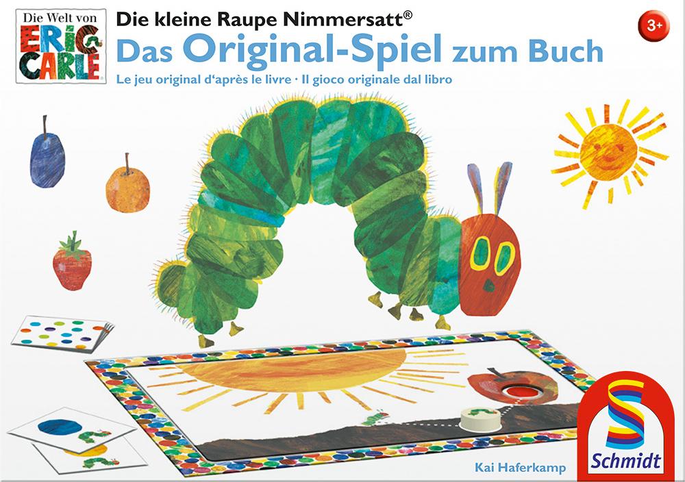 Raupe Nimmersatt Spiel