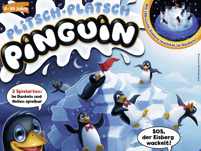 Spielanleitung Plitsch Platsch Pinguin