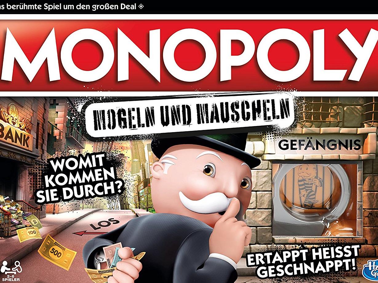 monopoly  mogeln und mauscheln  spiel  anleitung und bewertung auf alle brettspiele bei spielen de